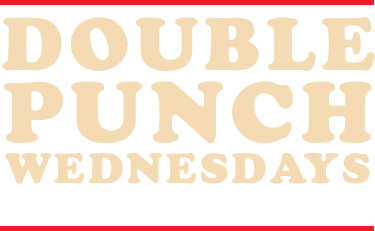 Double Punch Wednesdays are back for more