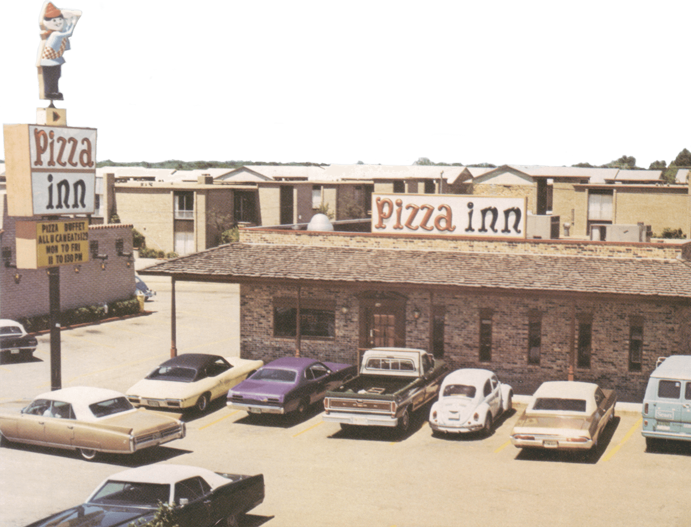 Pizza Inn original restaurant