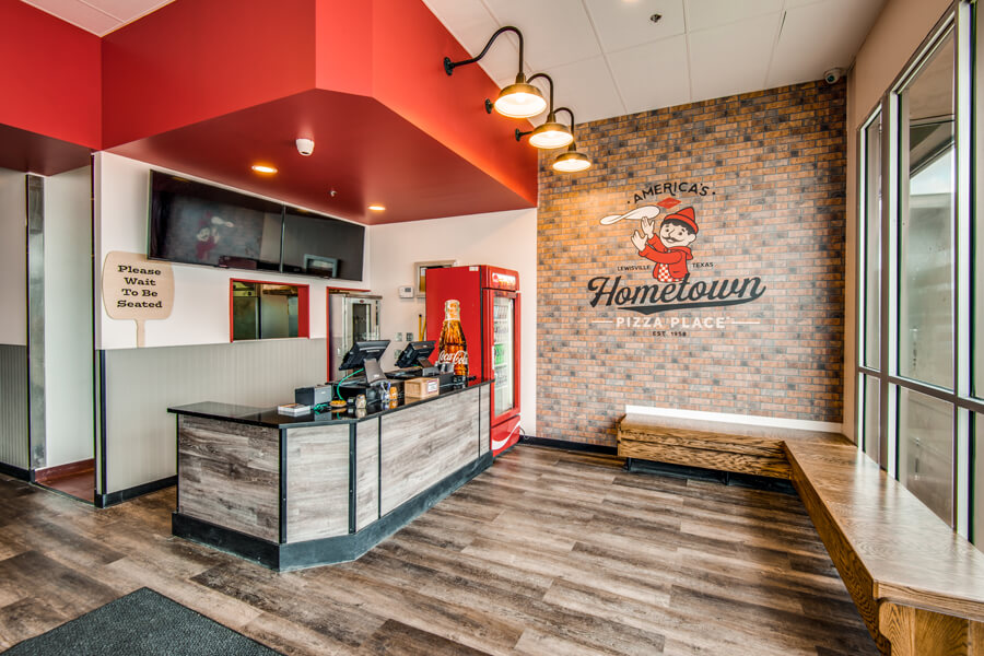 lewisville, texas pizza franchise
